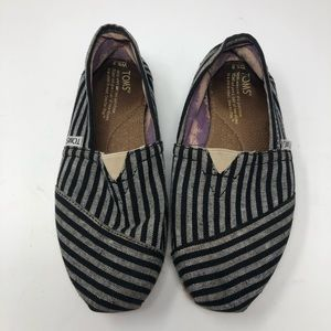 Toms stripped shoes